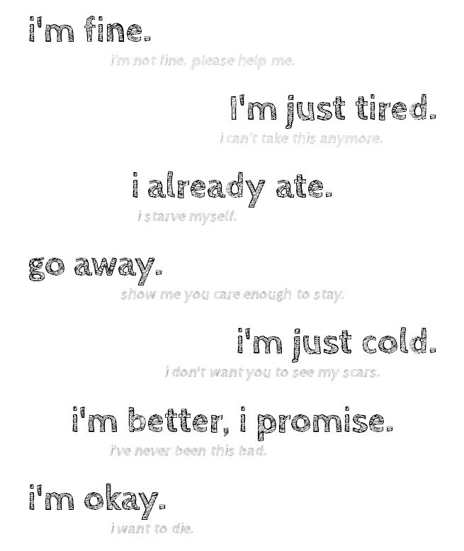 Quotes Self Harm Awareness