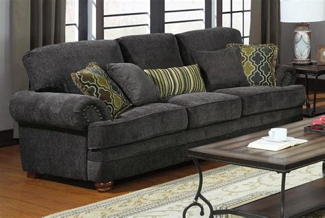 colton grey living room set  coaster