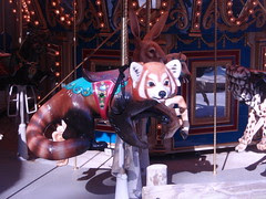 ride the red panda