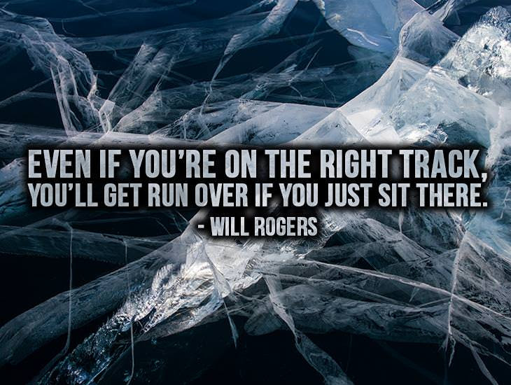 If Youre On The Right Track Inspiring Quotes Ecards Greeting
