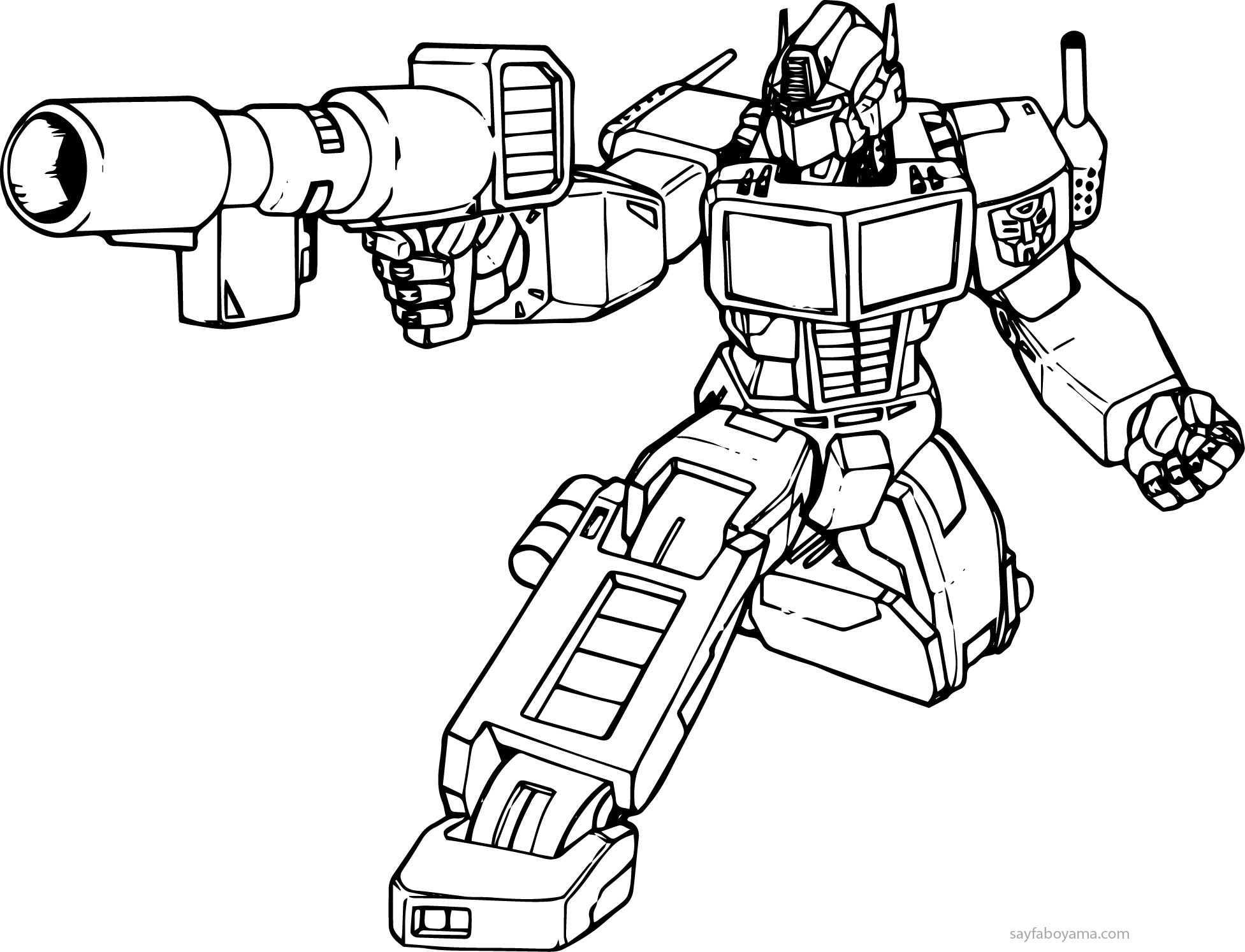 Transformers 3 Coloring Pages Eskayalitim