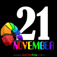 gambar dp wa bulan november  animasi tanggal