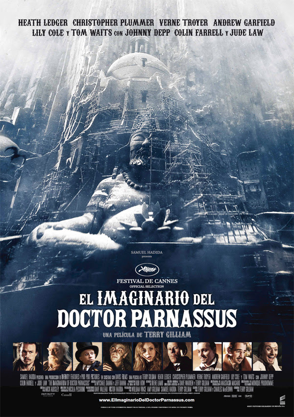 El imaginario del Doctor Parnassus (Terry Gilliam, 2.009)