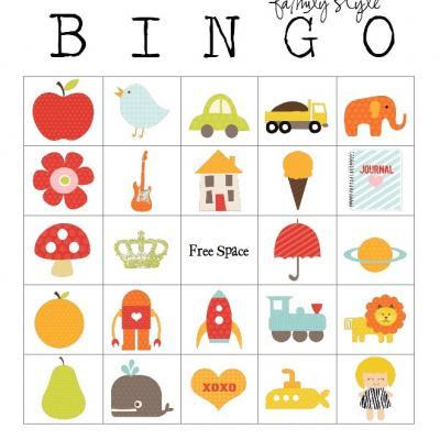 Birthday bingo kids