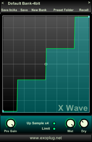 X Wave Symmetric Waveshaper VST