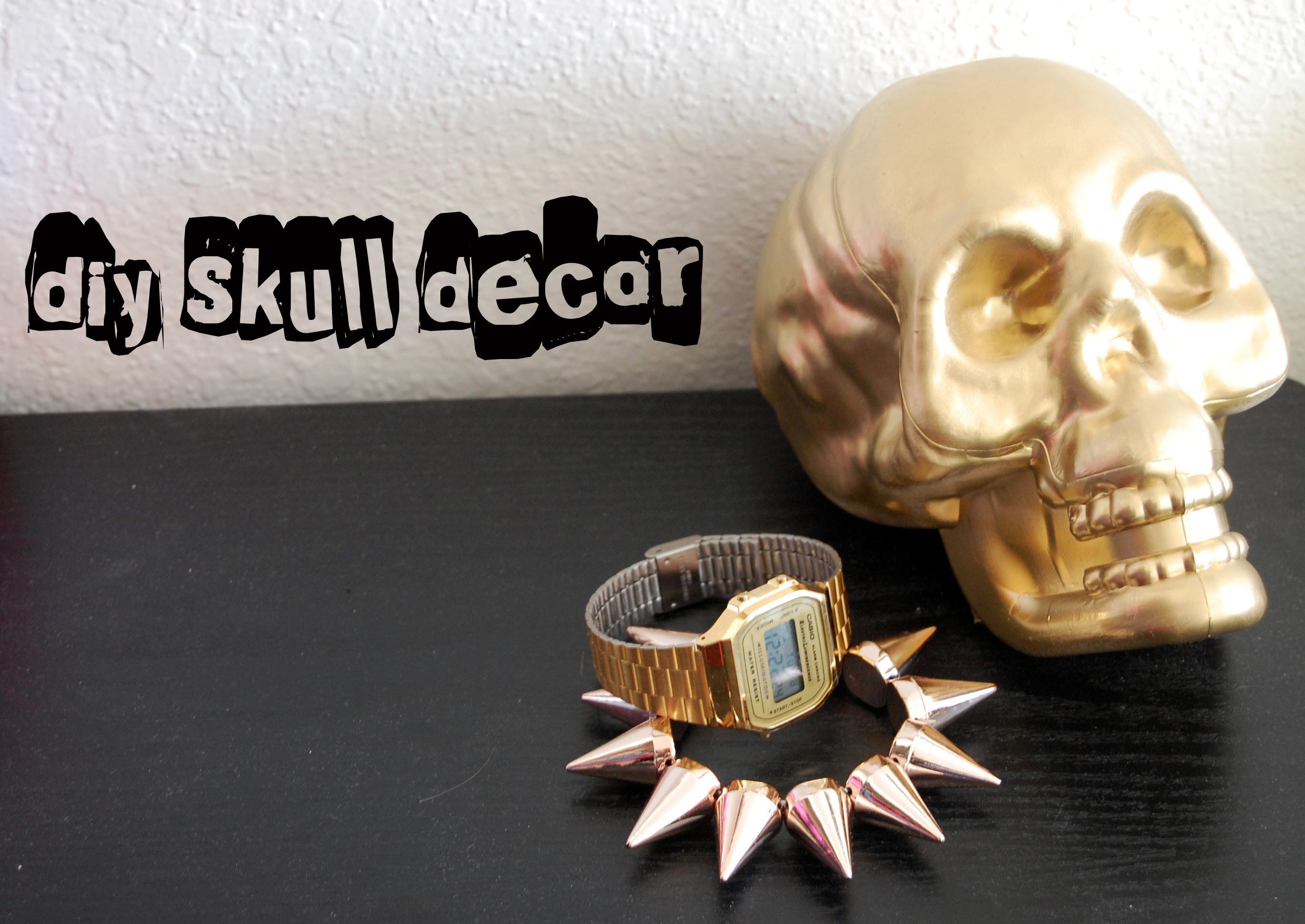 DIY_Skull Decor