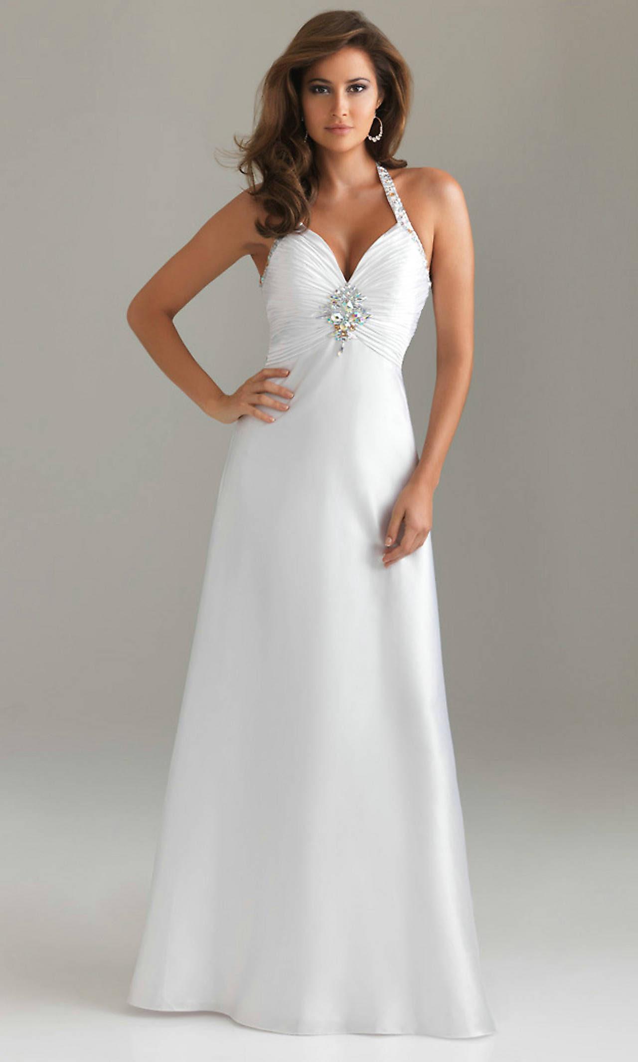 20 beautiful white prom dresses  magment