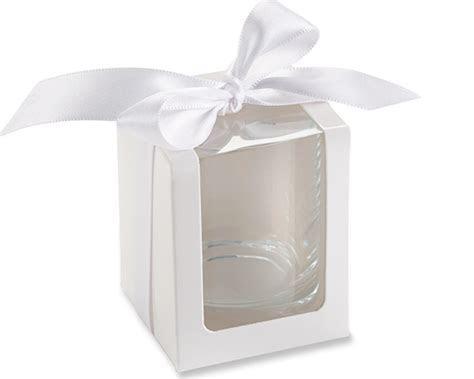 White Shot Glass/Votive Holder Gift Box (Set of 12)   Kate