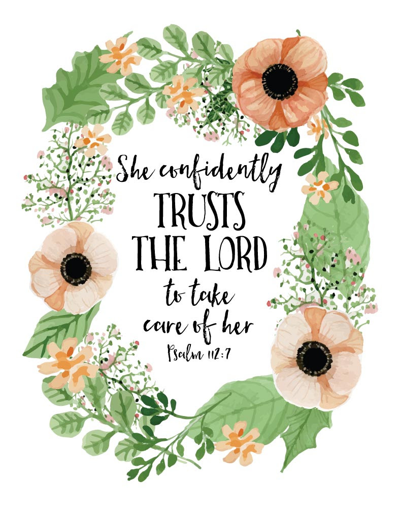 She Confidently Trusts The Lord Psalm 1127 Seeds Of Faith