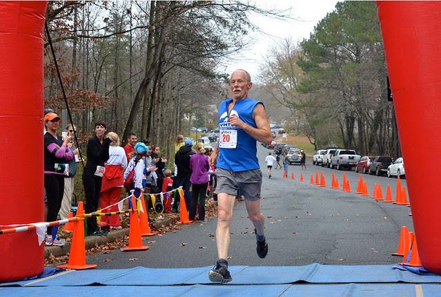 11-17-2013 Ridge Runners Turkey Trot Finish Photo TC