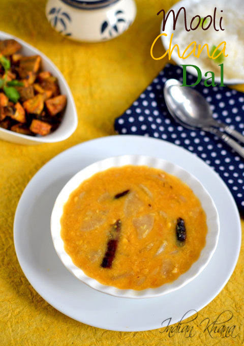 Mooli-Chana-Dal-Radish-Dal-Recipe