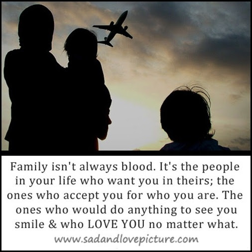Blood Doesnt Mean Family Quotes In Your Face Poster Family Doesnt