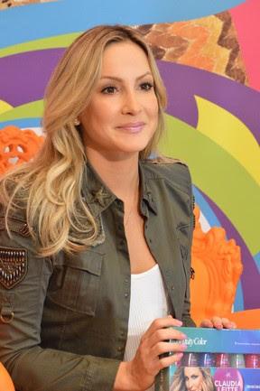 Coletiva de Imprensa de Claudia Leitte em Salvador (Foto:  Felipe Souto Maior/AgNews)