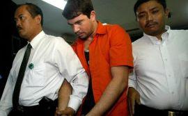 Paranaense Rodrigo Muxfeldt Gularte also esta no corredor da morte na Indonésia (Crédito: Divulgação)