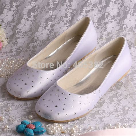 Wedopus MW080 Extra Wide Width Shoes White Women Bridal