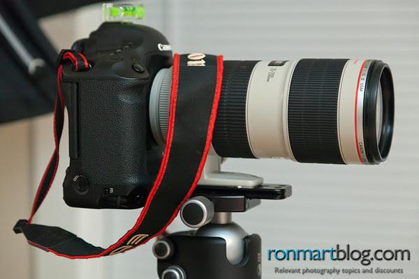 Canon 1D Mark IV and 70-200mm f/2.8L IS II USM on a Really Right Stuff L84 plate and BH-55 Tripod Ballhead