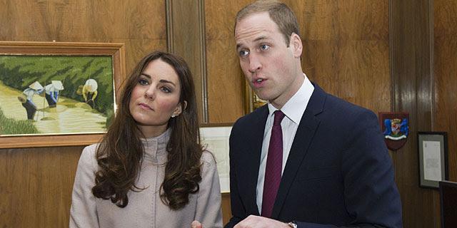El príncipe Guillermo y su esposa, la semana pasada en Cambridge. | Gtres