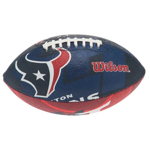 Wilson Youth Houston Texans NFL Junior Super Grip Football  Academy