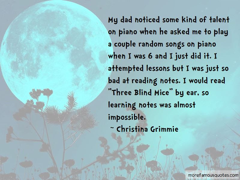 Quotes About Three Blind Mice Top 7 Three Blind Mice Quotes From
