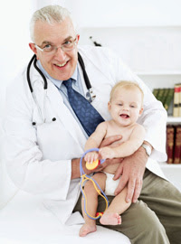 Photo: Doctor with baby