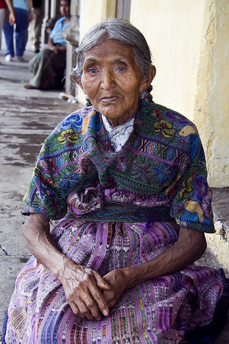 Old Woman, Antigua, Guatemala