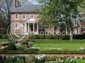 home of Fielding and Betty Washington Lewis in Fredericksburg, Virginia