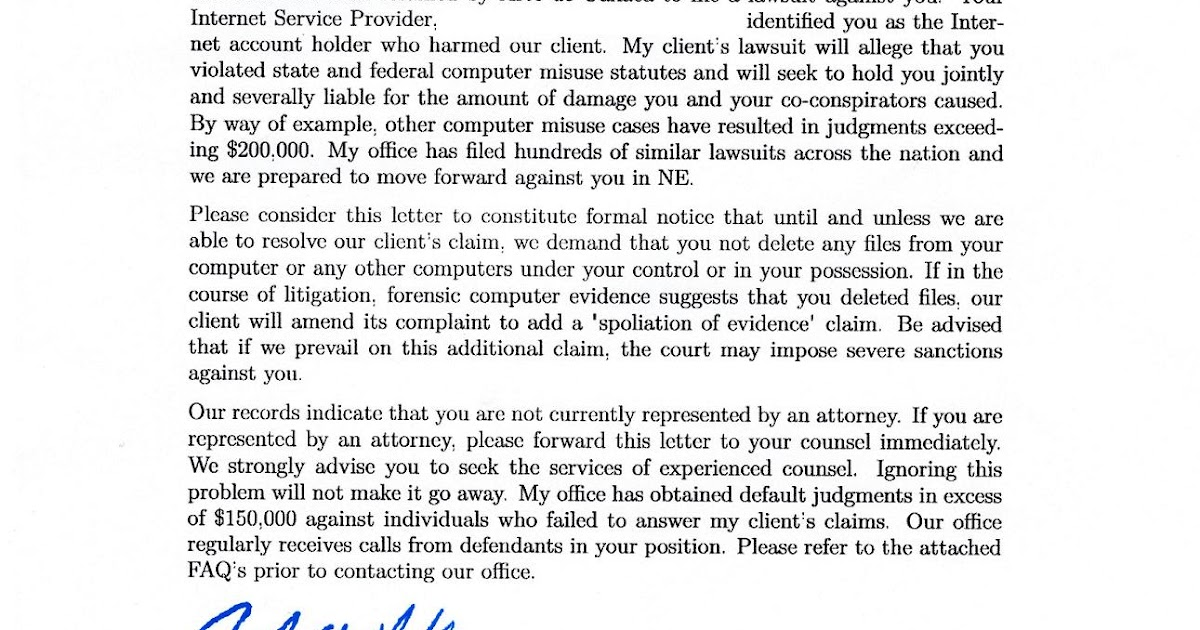 Demand Letter For Personal Injury Claim