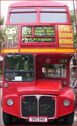 Pyromaniac in London