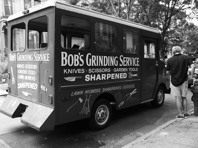 Get your knives sharpened, Brooklyn