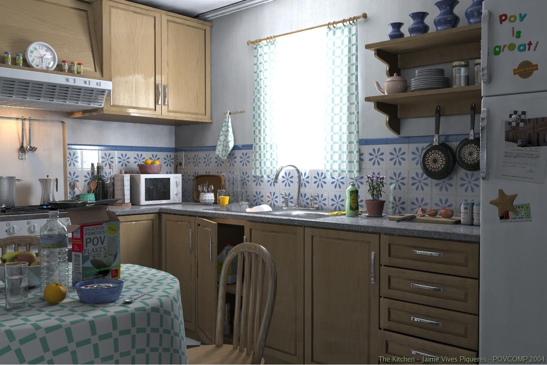 POVRay Kitchen