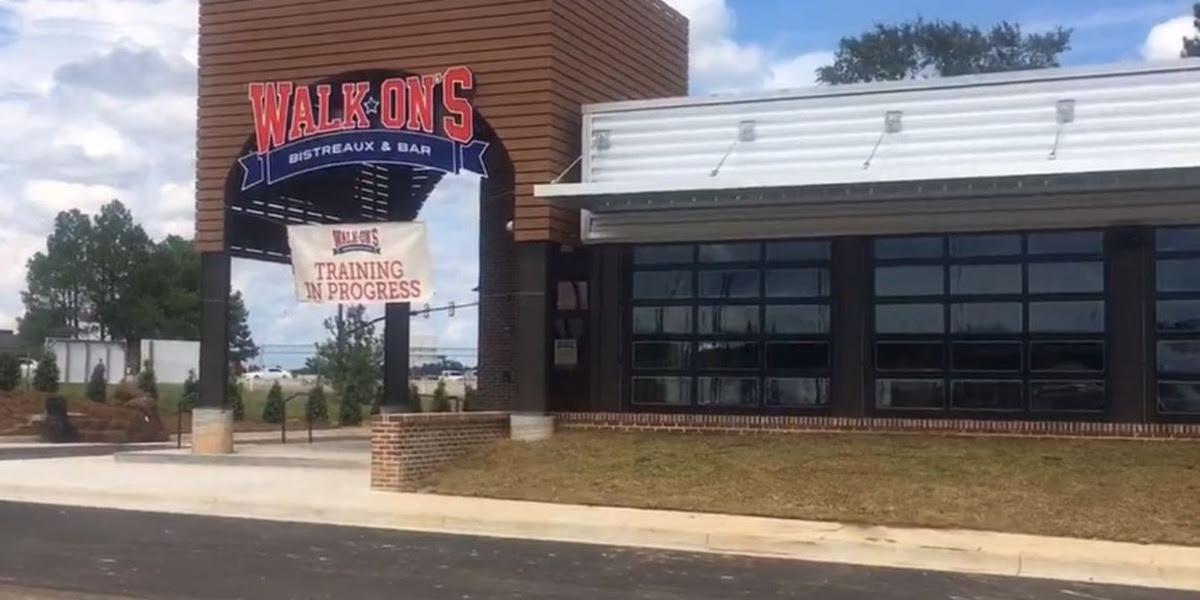 Walk Ons Bistreaux Bar opens in Hattiesburg