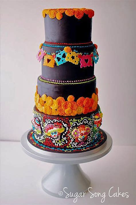 788 best images about Day of the Dead Wedding cakes and