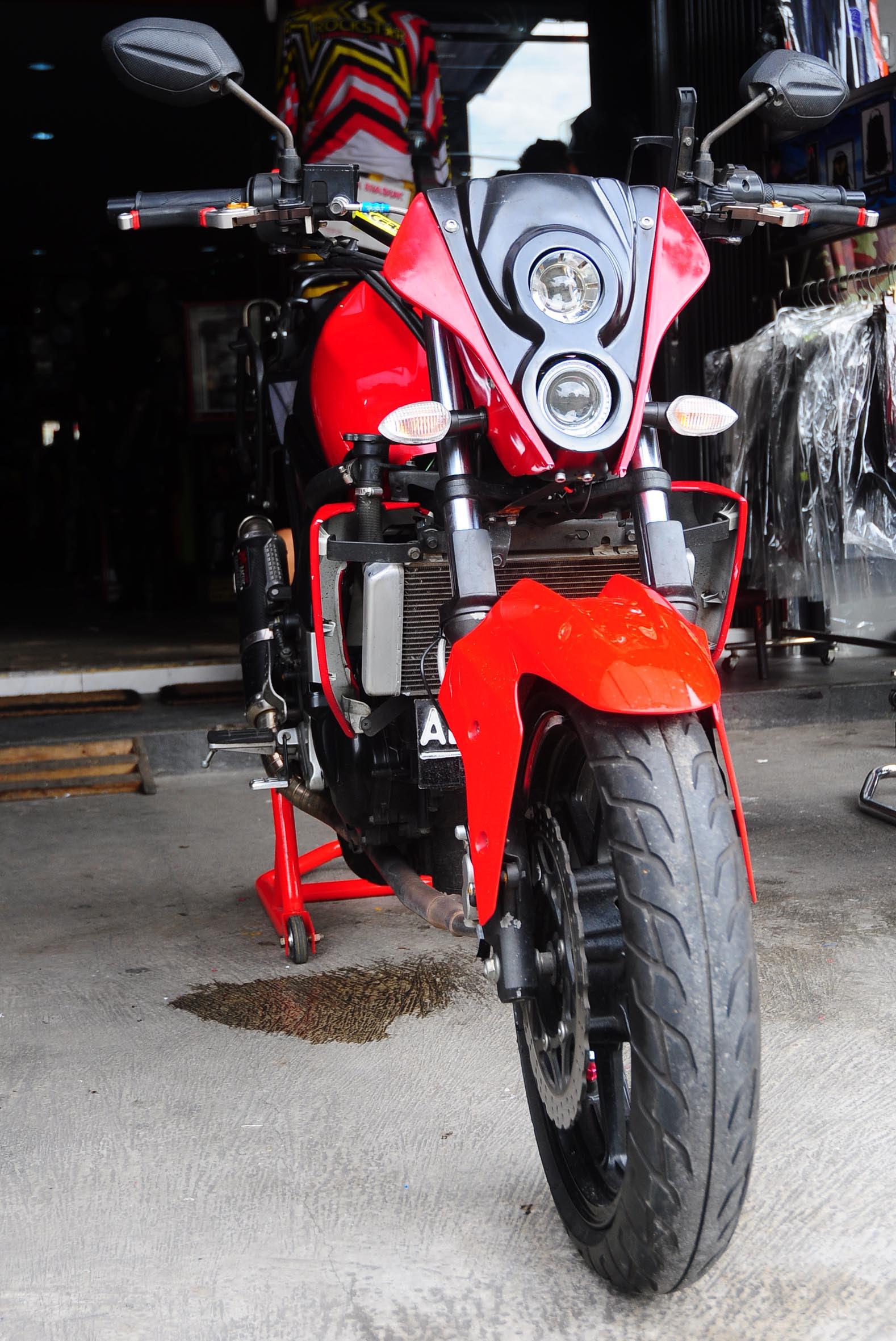 88 Modifikasi Motor Vixion Kap Ninja Terbaru Dan Terlengkap Kinyis