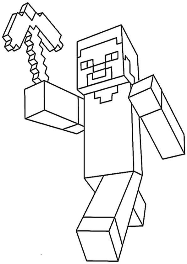 asumalbilder pinterest: Ausmalbilder Minecraft