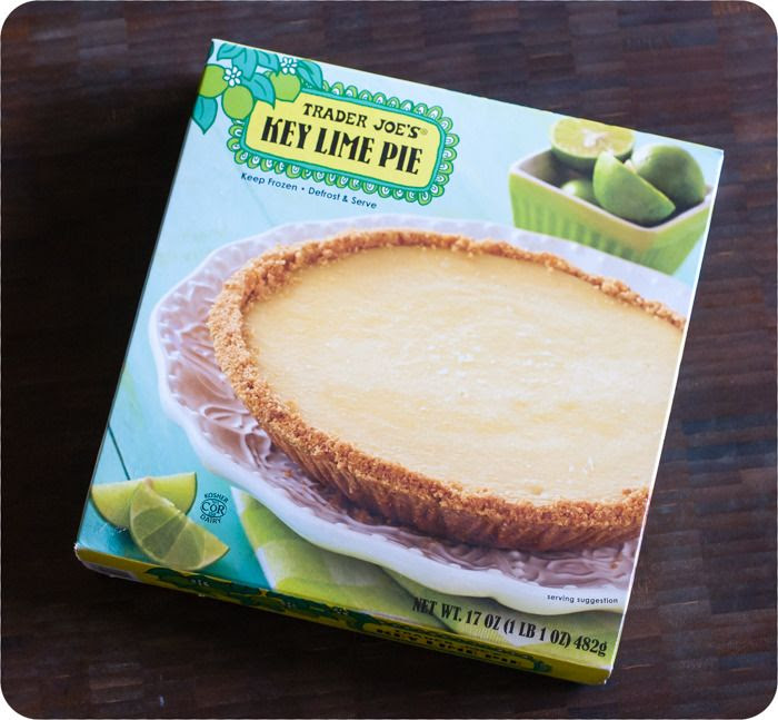 trader joe's weekly dessert review. this week: key lime pie