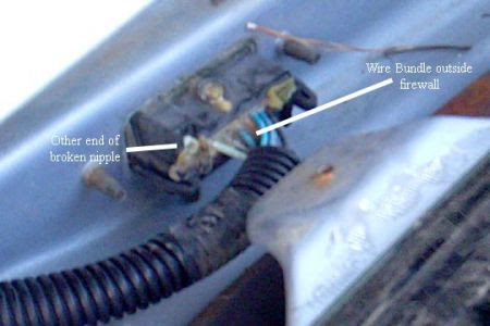 1998 Chevy Lumina 3.8L: Sprays washer fluid in the air ...