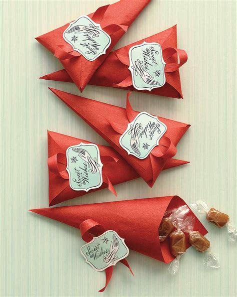 Gingerbread Caramel Cones   Martha Stewart