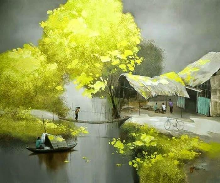 художник Dang Van Can картины – 02