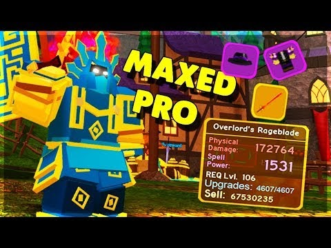 Roblox Dungeon Quest How To Get New Spells Roblox Dungeon Quest Overlord S Rageblade Lvl 106 Legendary Warrior Weapon