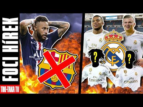 A Barca elnöke fontos bejelentést tett Neymarról!