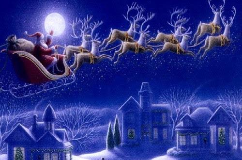Noel Baba ve Ren Geyikleri