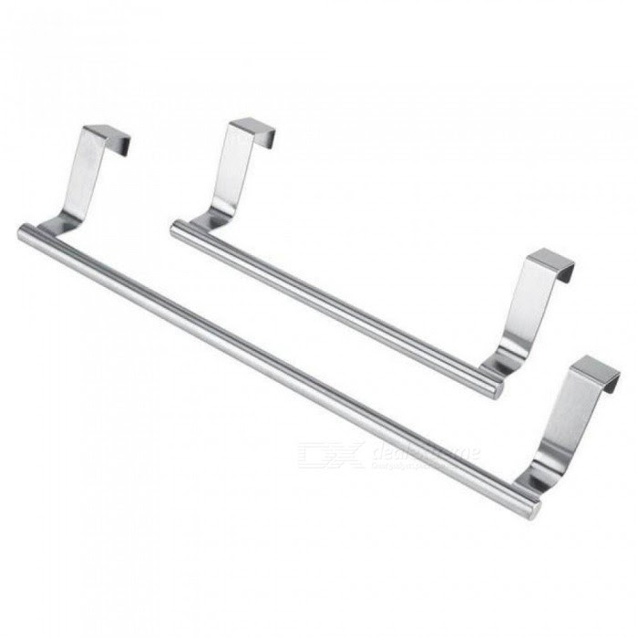2336 Cm Towel Bar Drawer Towel Hanging Rack Storage Holder Over
