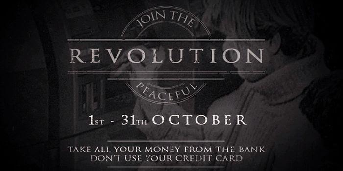 'Ottobre nero': Anonymous annuncia una rivoluzione pacifica contro le banche
