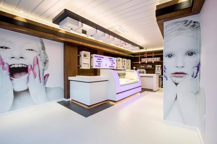 El Malagueńo Ice Cream Shop By Velvet Projects Cádiz Spain