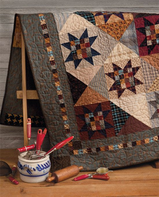 Martingale - At Home with Country Quilts (Print version + eBook bundle)