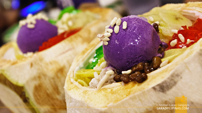 Halo Halo sa Buko at Tita Fannies Liempo and Chicken House