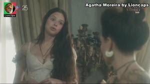 Agatha Moreira sensual na novela Novo Mundo