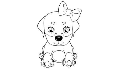 Boyama Resmi Köpek Bedava Boyama Resmi Köpek Oyunları Burada