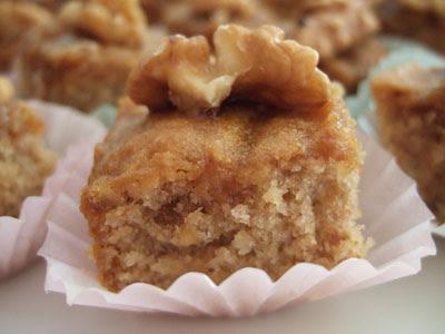 Bouchées aux noix 1