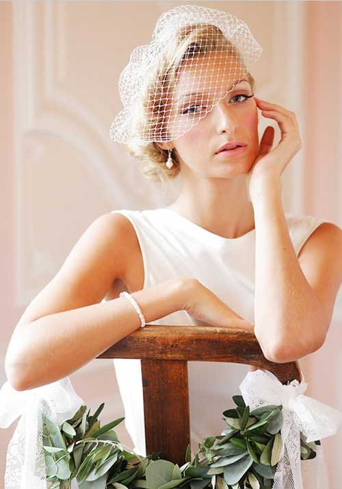 Memorable Wedding: Headpiece Styles For Short Hair